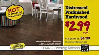 Lumber Liquidators Spring Flooring Season TV Spot, 'Latest Looks' - Thumbnail 3