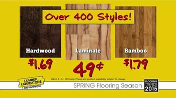 Lumber Liquidators Spring Flooring Season TV Spot, 'Latest Looks' - Thumbnail 6