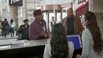 Capital One TV Spot, 'Checking In' Feat. Samuel L. Jackson, Charles Barkley - Thumbnail 2