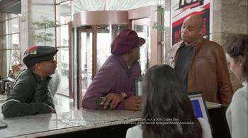 Capital One TV Spot, 'Checking In' Feat. Samuel L. Jackson, Charles Barkley - Thumbnail 5