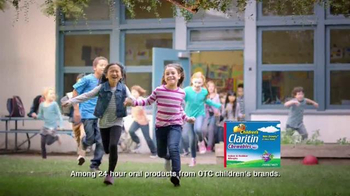 Children's Claritin TV Spot, 'Bed Time in Class' - Thumbnail 4