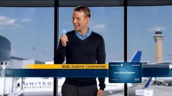 United MileagePlus Explorer Chase Card TV Spot, 'Put Everything On It' - Thumbnail 1