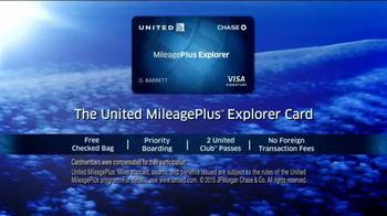United MileagePlus Explorer Chase Card TV Spot, 'Put Everything On It' - Thumbnail 10