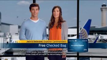 United MileagePlus Explorer Chase Card TV Spot, 'Put Everything On It' - Thumbnail 3