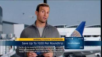 United MileagePlus Explorer Chase Card TV Spot, 'Put Everything On It' - Thumbnail 4
