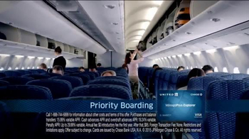 United MileagePlus Explorer Chase Card TV Spot, 'Put Everything On It' - Thumbnail 7