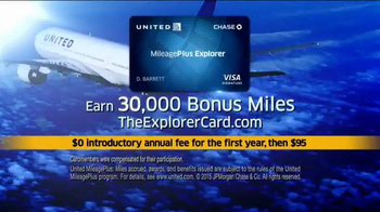 United MileagePlus Explorer Chase Card TV Spot, 'Put Everything On It' - Thumbnail 8