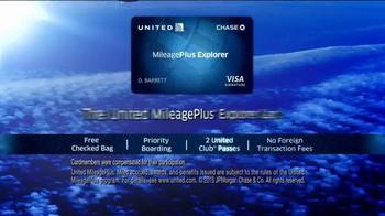 United MileagePlus Explorer Chase Card TV Spot, 'Put Everything On It' - Thumbnail 9