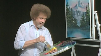 Straight Talk Wireless TV Spot, 'Painting' Featuring Bob Ross