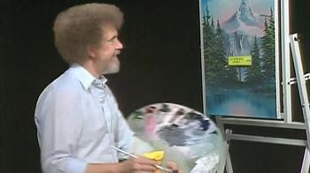 Straight Talk Wireless TV Spot, 'Painting' Featuring Bob Ross - Thumbnail 6