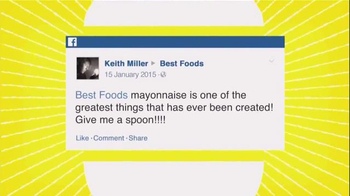 Best Foods Mayonnaise TV Spot, 'One Of The Greatest Things Ever Created'