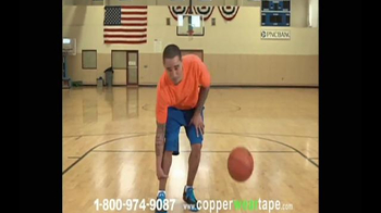 CopperWear Tape TV Spot, 'Get the Championship Feel' - Thumbnail 5