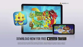 Dragon City App TV Spot, 'Raise Your Dragons'