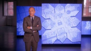 The More You Know TV Spot, 'Set Rules Online' Featuring Matt Lauer - 82 commercial airings