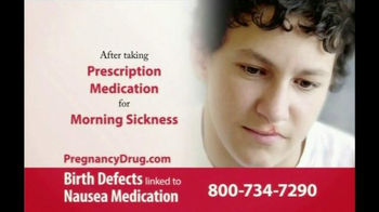 Gold Shield Group TV Spot, \'Prescription Medication for Morning Sickness\'