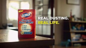 Clorox Triple Action Dust Wipes TV Spot, 'Hair' - Thumbnail 9