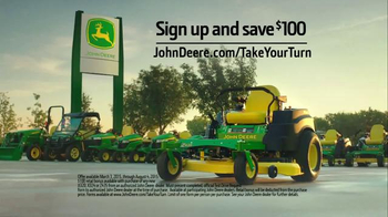John Deere Z435 TV Spot, 'Don't Sit at Your Computer' - Thumbnail 9