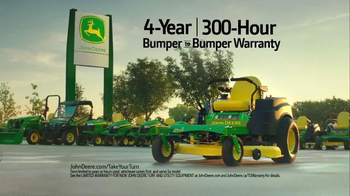 John Deere Z435 TV Spot, 'Don't Sit at Your Computer' - Thumbnail 7