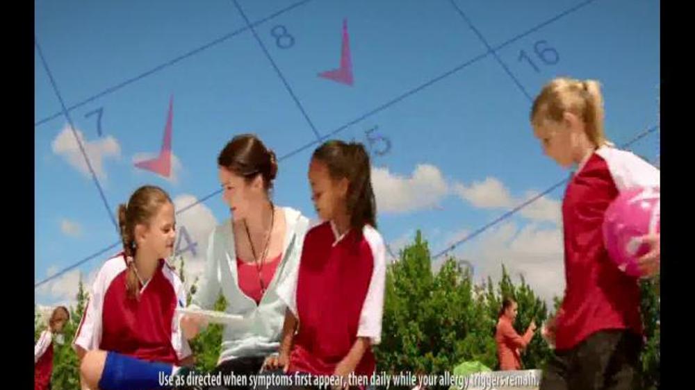 Claritin TV Commercial, 'Soccer Coach'