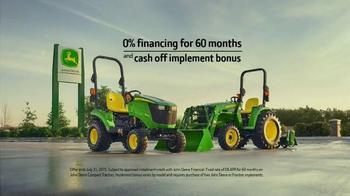 John Deere E Series Tractors TV Spot, 'Ron's Advice' - Thumbnail 8
