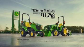 John Deere E Series Tractors TV Spot, 'Ron's Advice' - Thumbnail 7