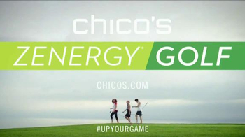 Chico's Spring 2015 Zenergy Golf Collection TV Spot, 'Focus and Out Drive' - Thumbnail 9