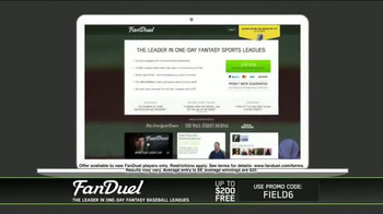 FanDuel Fantasy Baseball One-Day Leagues TV Spot, 'Play to Win' - Thumbnail 10