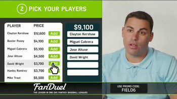 FanDuel Fantasy Baseball One-Day Leagues TV Spot, 'Play to Win' - Thumbnail 5