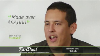 FanDuel Fantasy Baseball One-Day Leagues TV Spot, 'Play to Win' - Thumbnail 9
