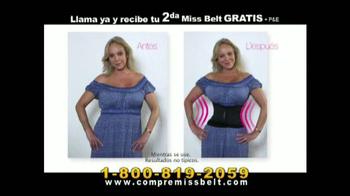 Miss Belt TV Spot, 'Compresión Naturala' [Spanish]