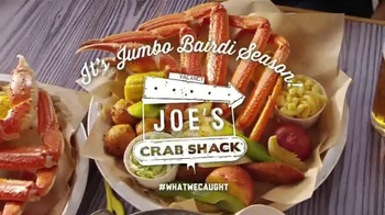 Joe's Crab Shack TV Spot, 'The Leg Man' Featuring Casey McManus
