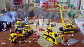 LEGO City Demolition Experts Collection TV Spot, 'Blast the Old Building'