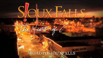 Sioux Falls Convention and Visitors Bureau TV Spot, 'The Heart of America'