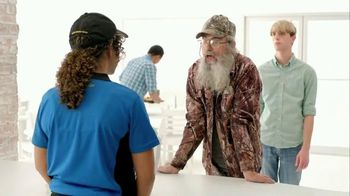 Zaxby's Spicy Honey BBQ Boneless Wings Meal TV Spot, 'Hey' Ft. Si Robertson - 7 commercial airings