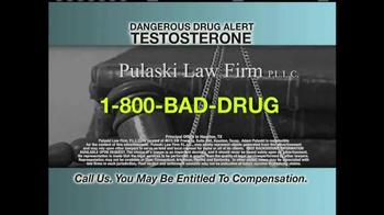 Pulaski & Middleman TV Spot, 'Testosterone Risks' - Thumbnail 6