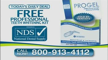 Pro Gel TV Spot, 'Today's Daily Deal'