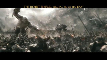 The Hobbit: The Battle of the Five Armies Blu-ray and Digital HD TV Spot - Thumbnail 8