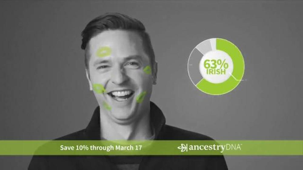 AncestryDNA TV Commercial, 'Prove Your Irish Ethnicity'