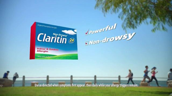Claritin 24 Hour TV Spot, 'Real People Every Day' - Thumbnail 6