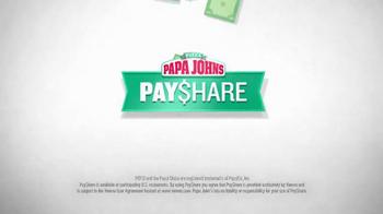 Papa John's Pay$hare TV Spot, 'Split the Check' - Thumbnail 3