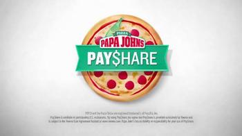 Papa John's Pay$hare TV Spot, 'Split the Check' - Thumbnail 4
