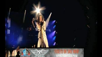 2015 Pro Football Hall of Fame Concert for Legends TV Spot, 'Aerosmith'