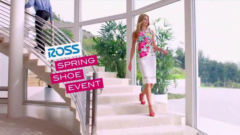 Ross Spring Shoe Event TV Commercial, 'Huge Savings on Top Brands'