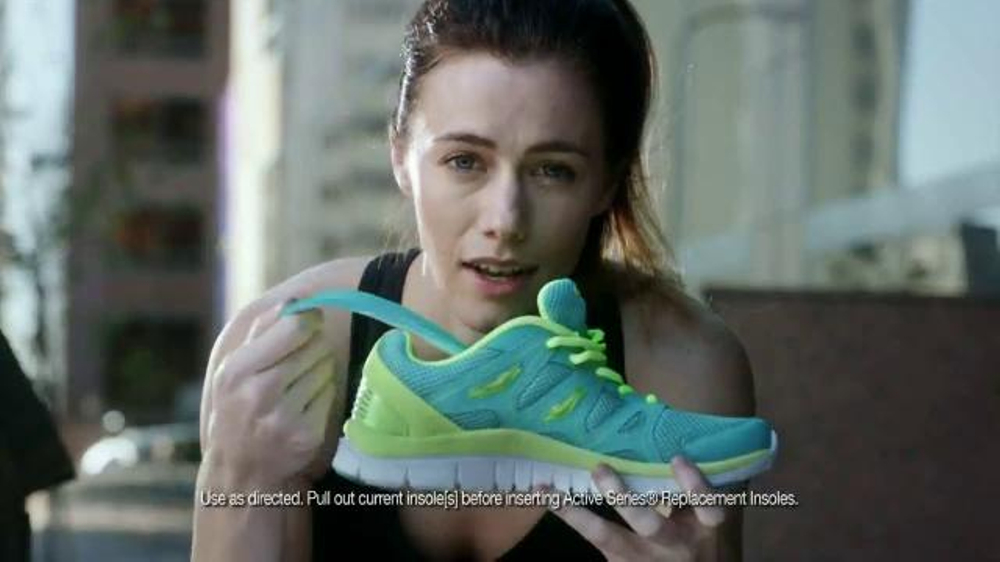 Dr. Scholl's Active Series TV Commercial, 'Take On Anything Woman'