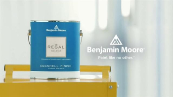Benjamin Moore TV Spot, 'Paint That Stands Up to Life's Wear and Tear' - Thumbnail 10
