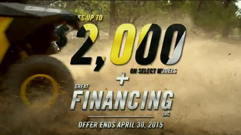 Can-Am Ready to Ride Sales Event TV Spot, 'Don't Miss Out' - Thumbnail 8