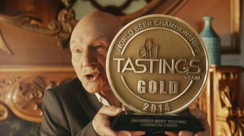 Strongbow Hard Cider TV Spot, 'Award' Featuring Patrick Stewart - 3954 commercial airings