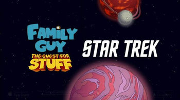 Family Guy: The Quest for Stuff App TV Spot, \'Star Trek\'