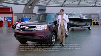 Honda Dream Garage Sales Event: 2015 Pilot 2WD LX TV Spot, 'Dream Deals' - Thumbnail 3