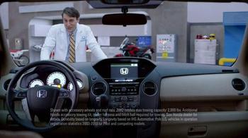 Honda Dream Garage Sales Event: 2015 Pilot 2WD LX TV Spot, 'Dream Deals' - Thumbnail 4